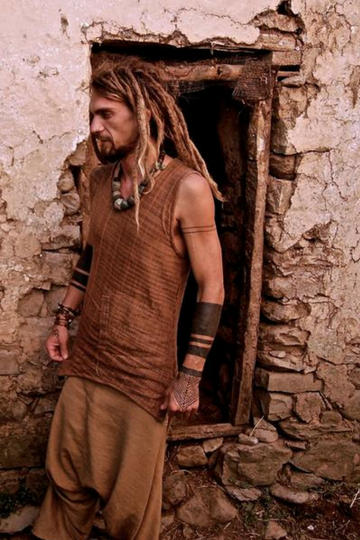 Hippie men shirt, earthy men shirt, nomad man shirt, gypsy men shirt,  indian shirt men, sleeveless shirt, men summer shirt, tribal shirt, hippie shirt men, gypsy shirt men, hippie clothing, men comfy shirt, hippie sleeveless earth shirt, organic men shirt, natural men shirt, eco men shirt, vegan men shirt