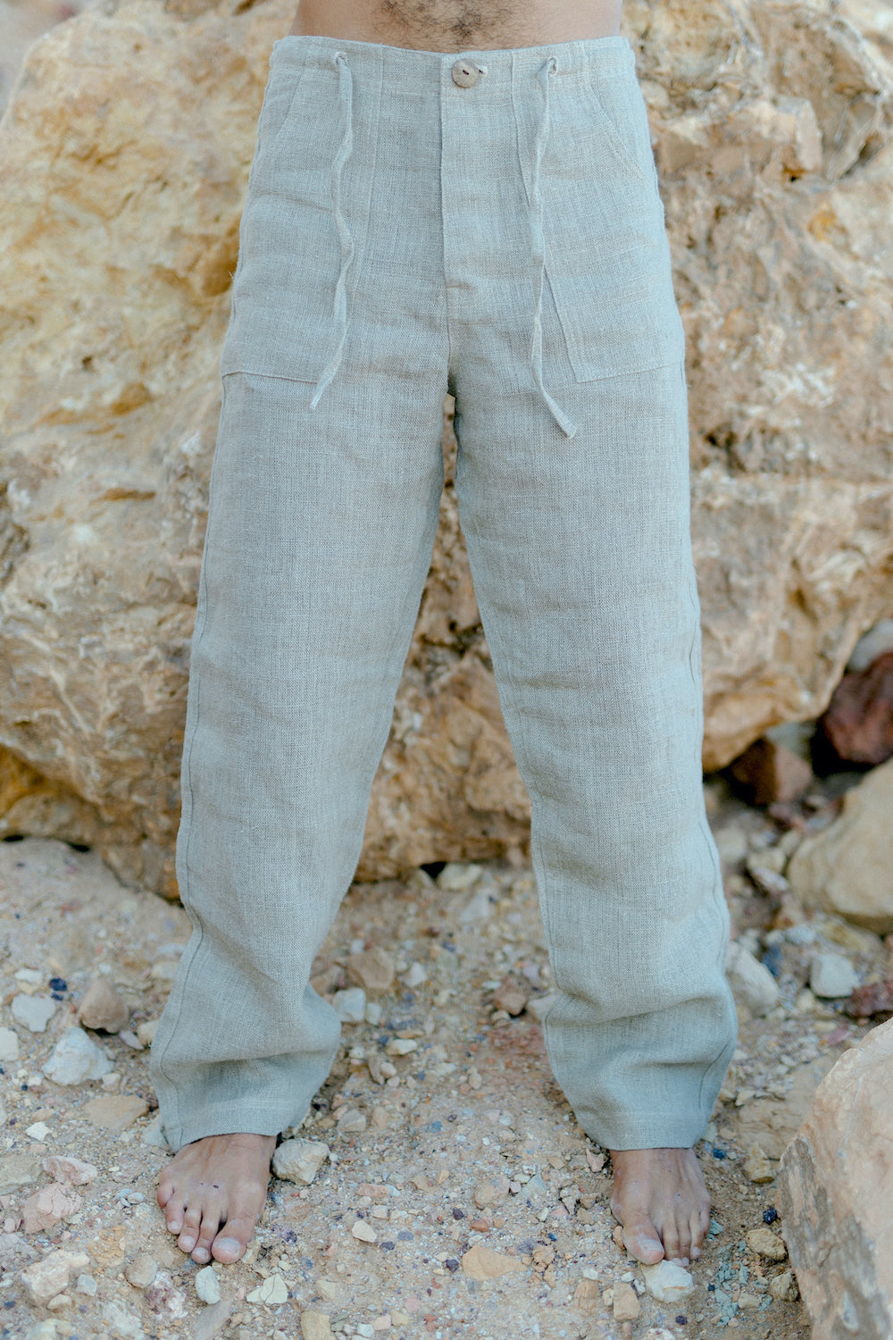 Linen Classic Straight Pants ⋙