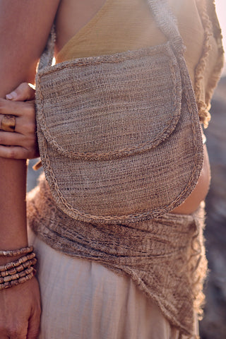 Khadi Lungi with Tribal Embroidery ⫸