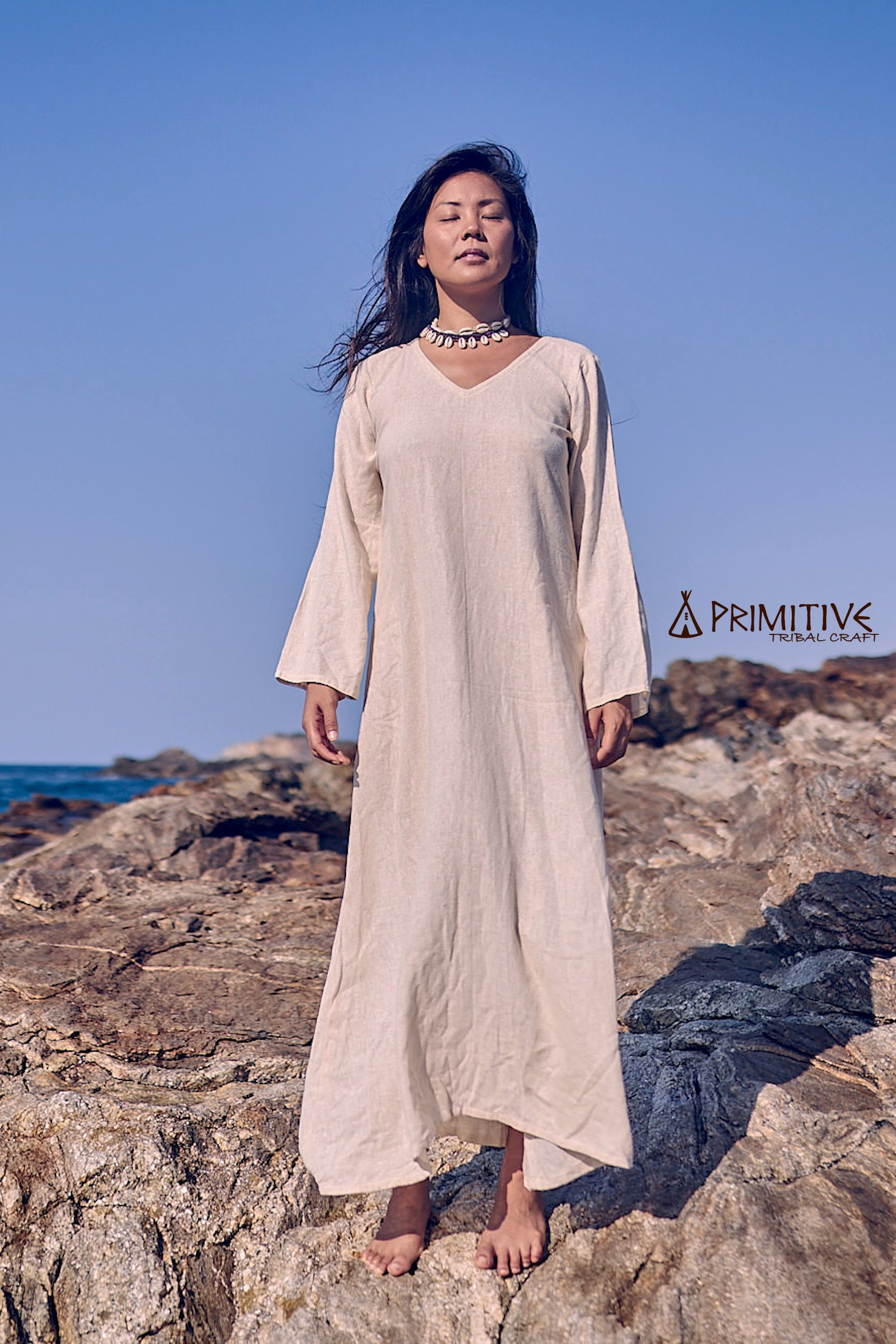 Long Jalabiya Dress ๑⋙ Raw Silk