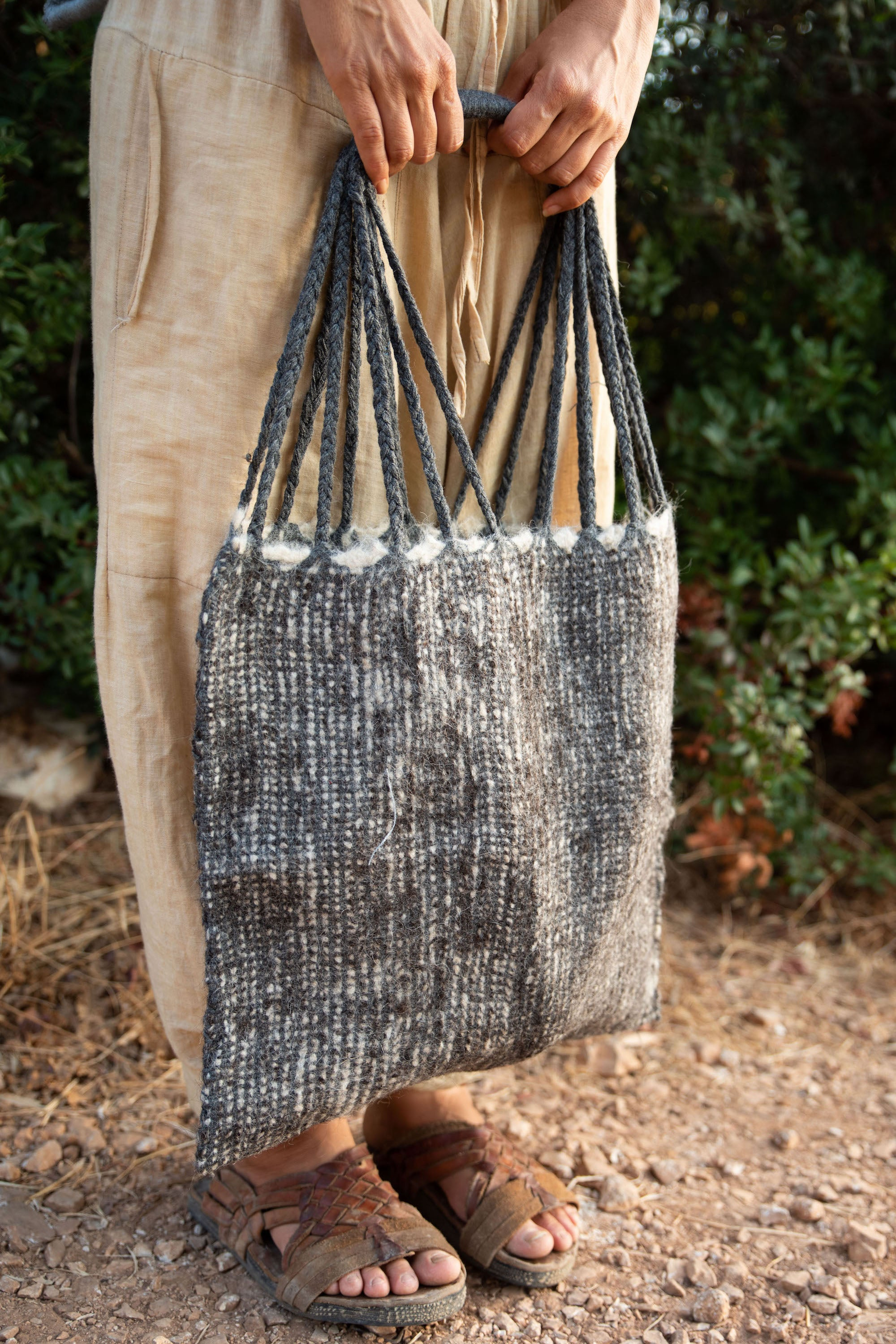Hand Loom Wool Bag