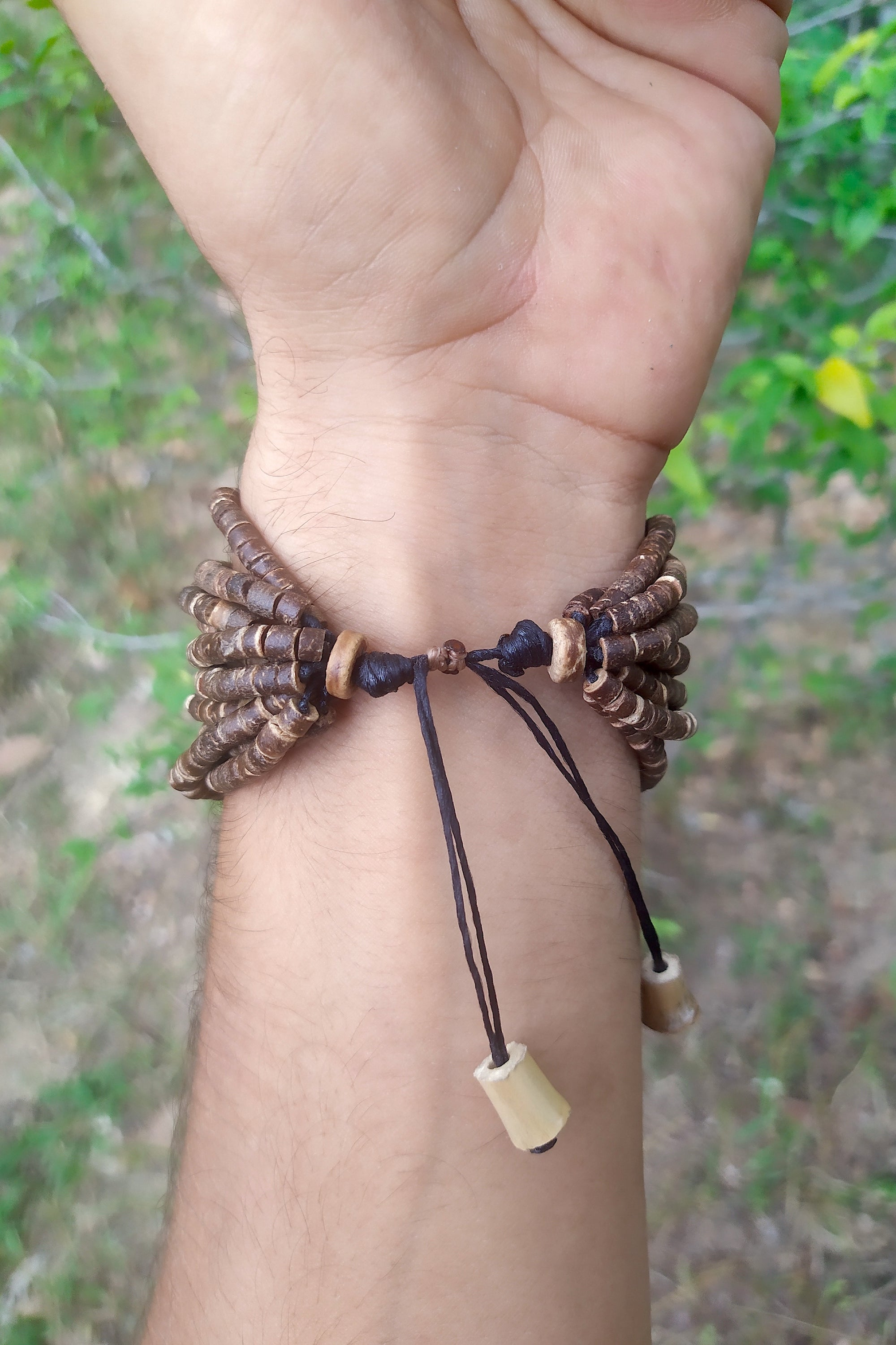 Coconut Beads Large Bracelet
