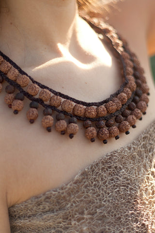 Tulsi Necklace ~ 3 Lines