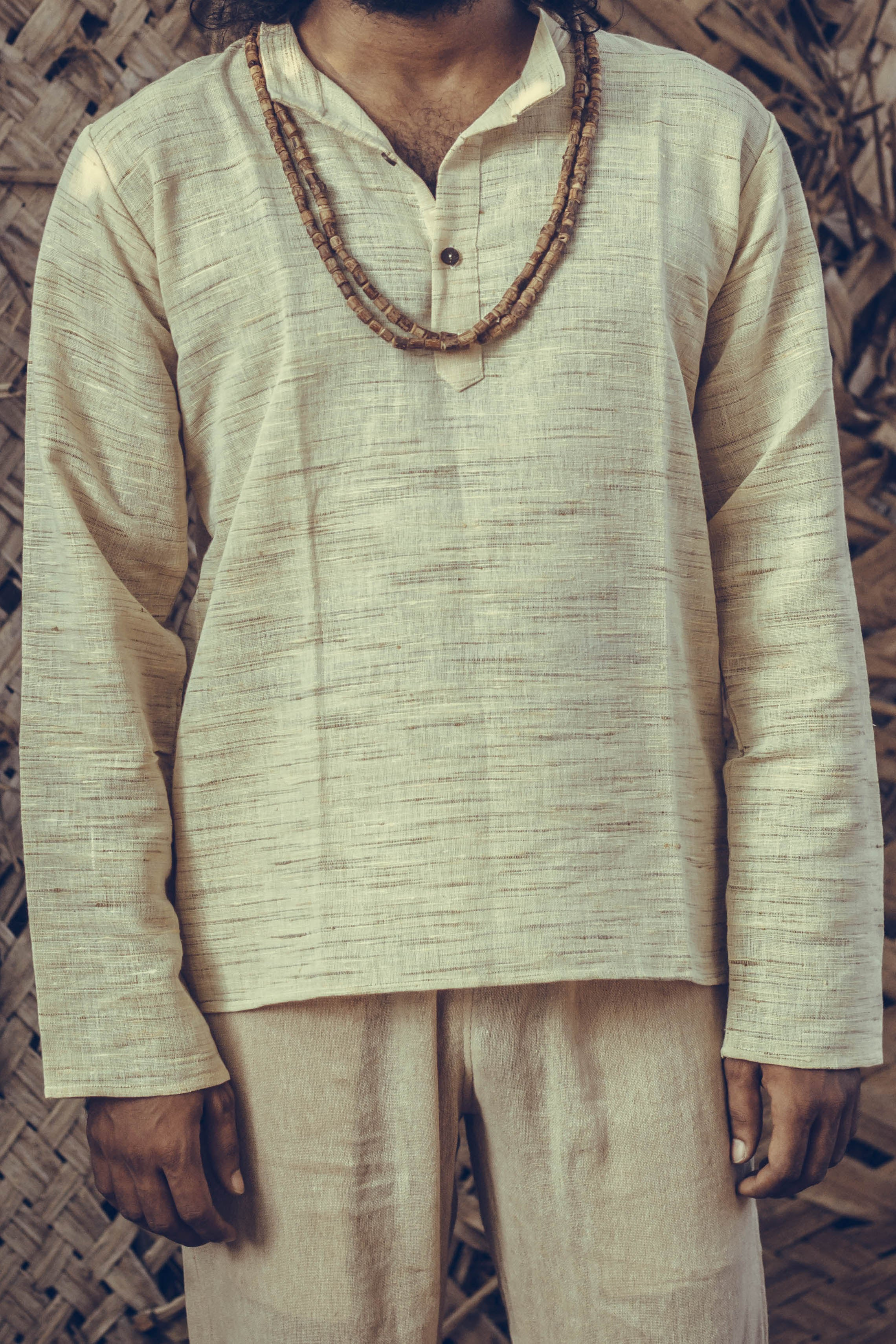 Earthy short kurta