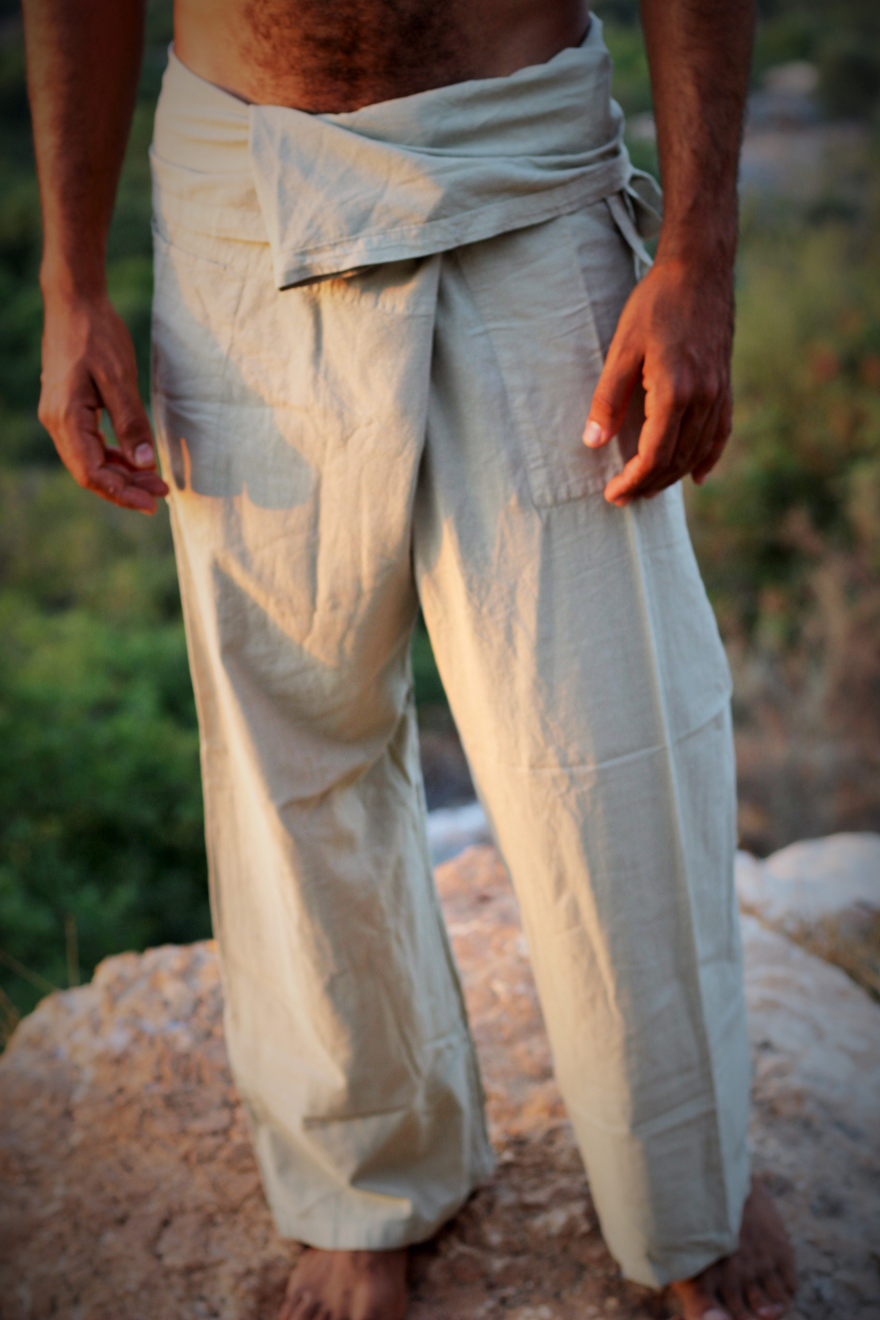Fisherman Pants ~ Cotton