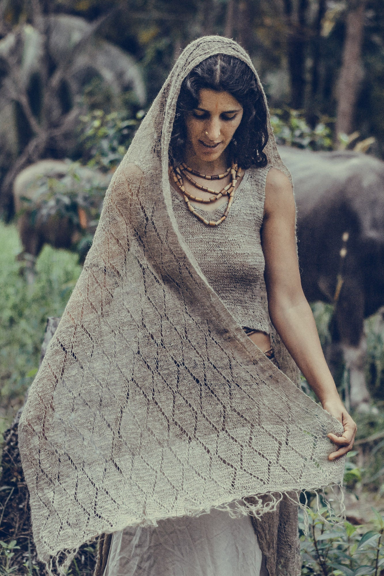 Nettle Shawl ~>> From Wild Himalayan Nettle <<~