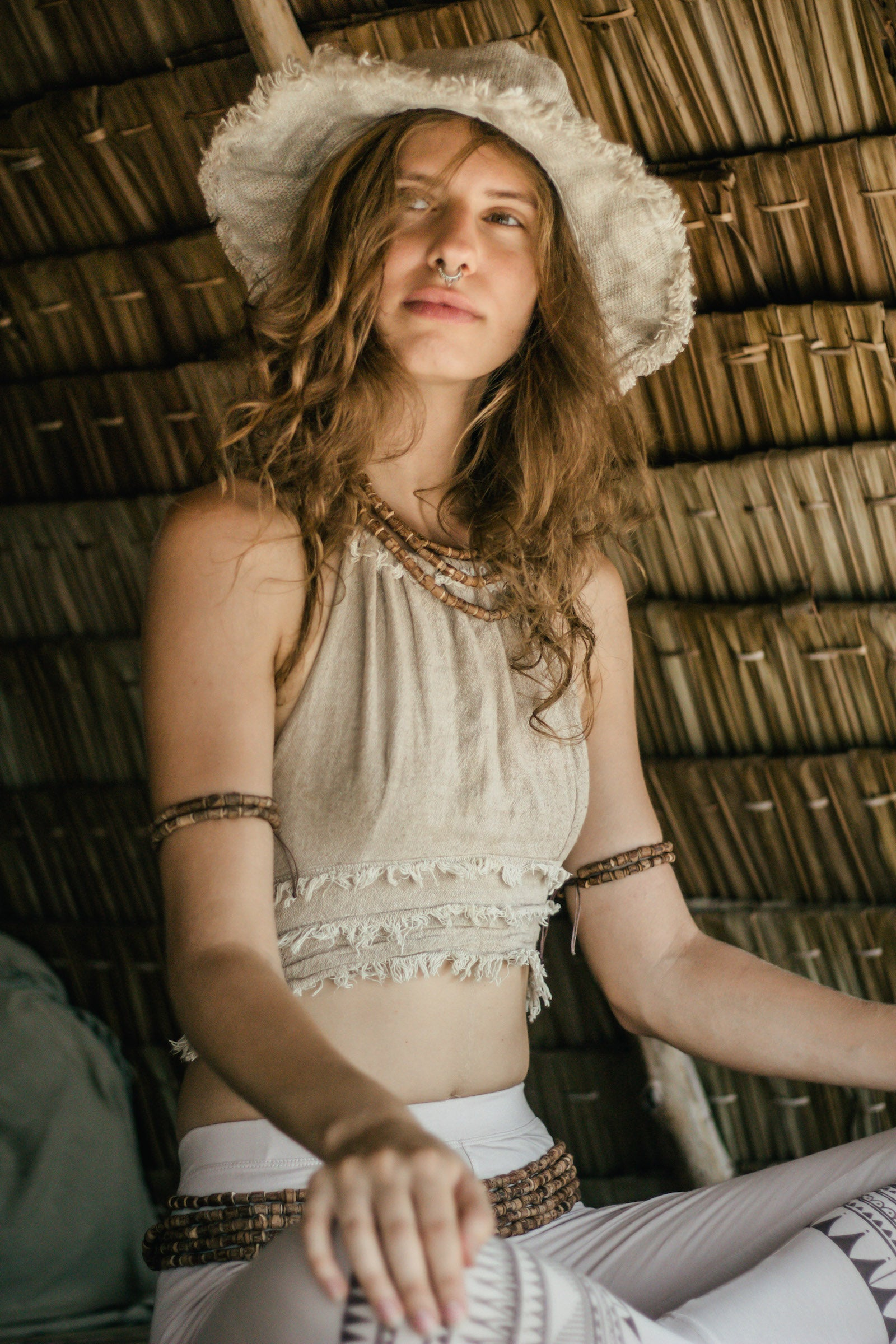HandWoven Wild Hemp Hat