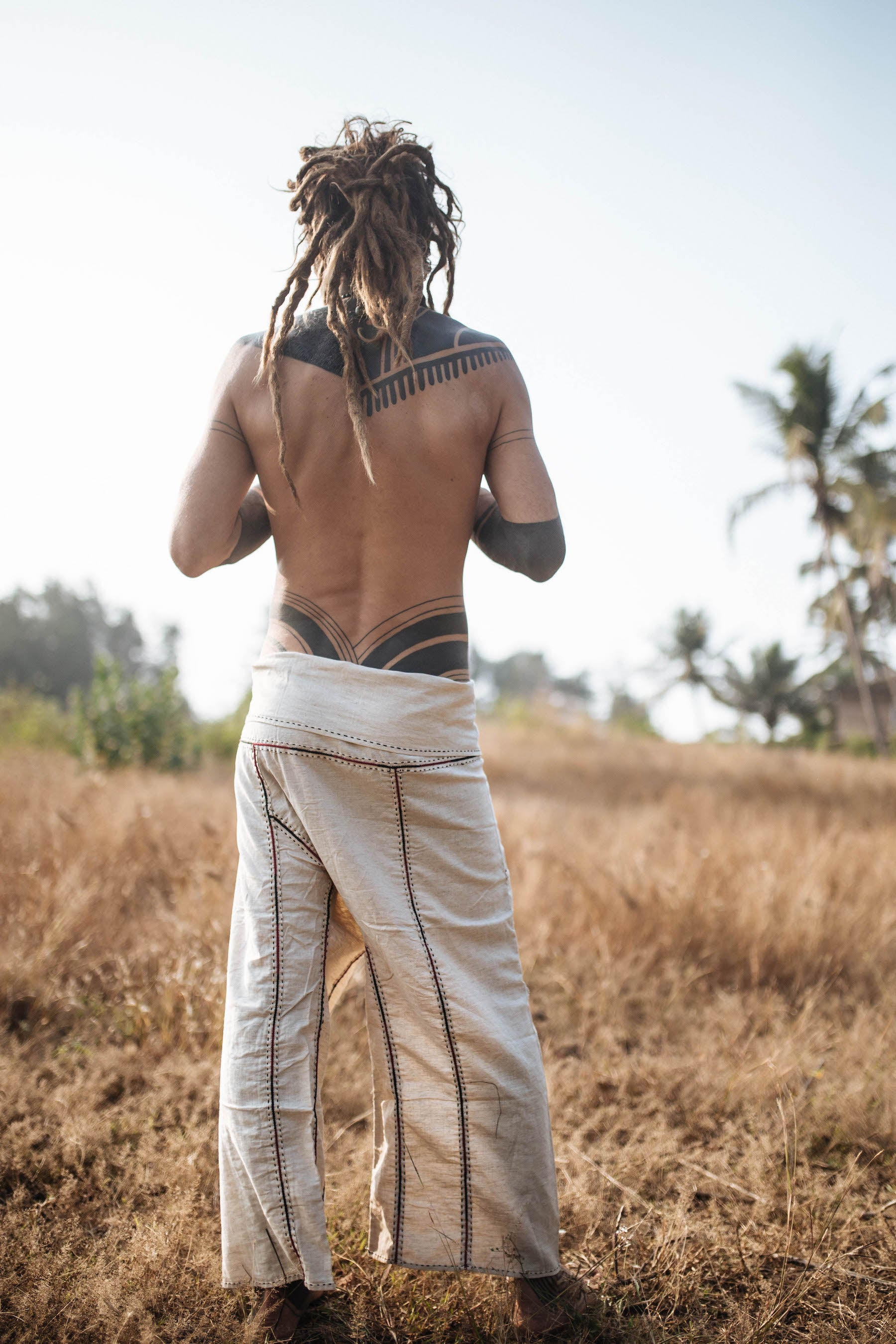 Hand Stitched Thai Fisherman Pants. Hemp Fisherman Pants. Handmade Pants