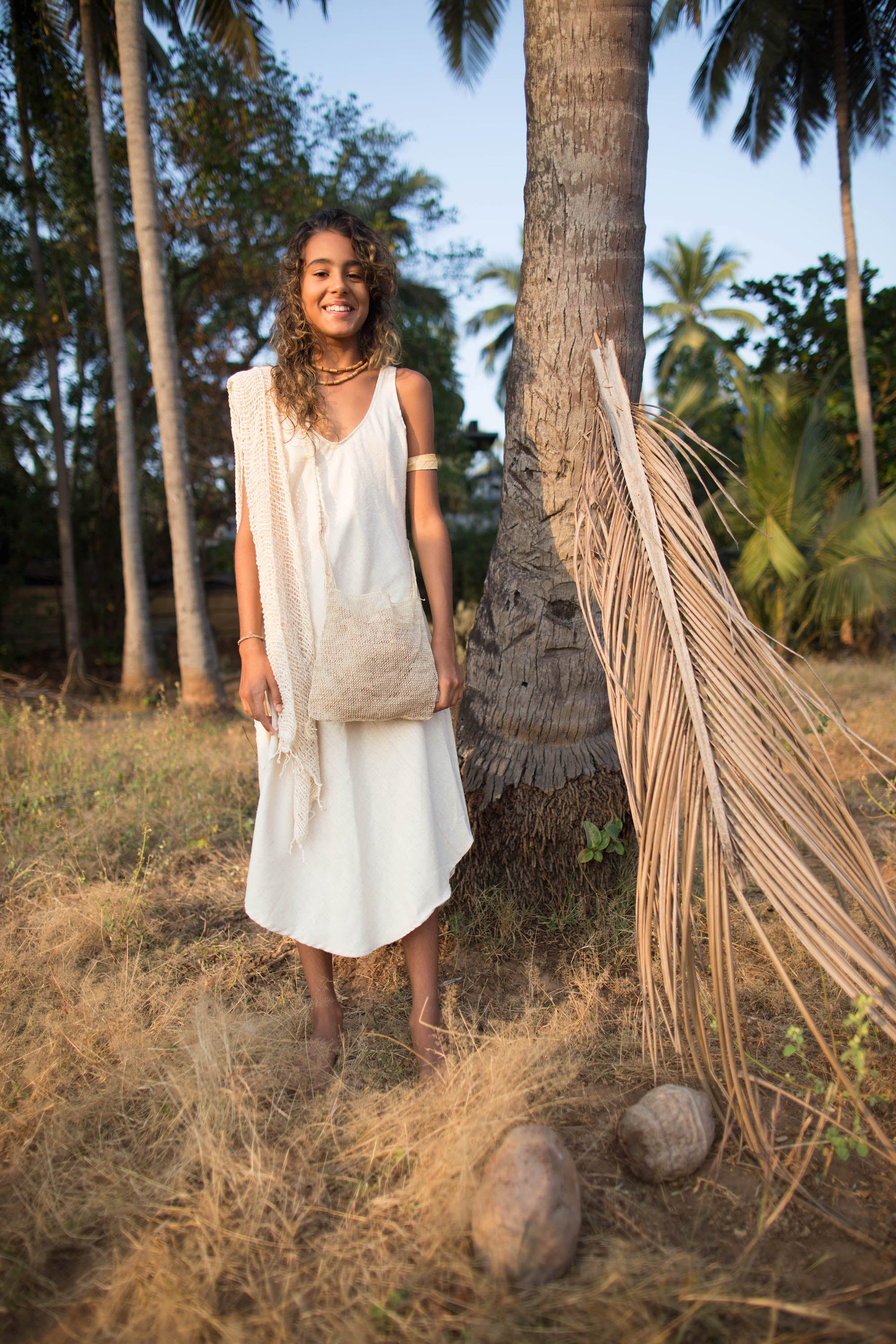 Kalya Dress • Raw Silk