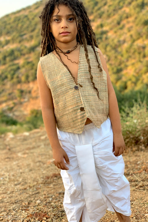 Children Dhoti Pants • Traditional Indian Pants • Dhoti Style Children Pants