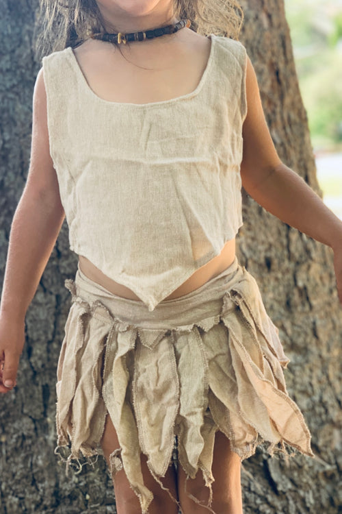 Natural Magic Leaves ⋙ Pixie Skirt / Belt for Children