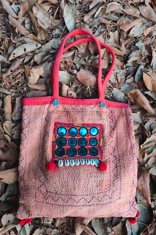 Banjara Tribal patch Bag. Intricate Traditional Embroidery