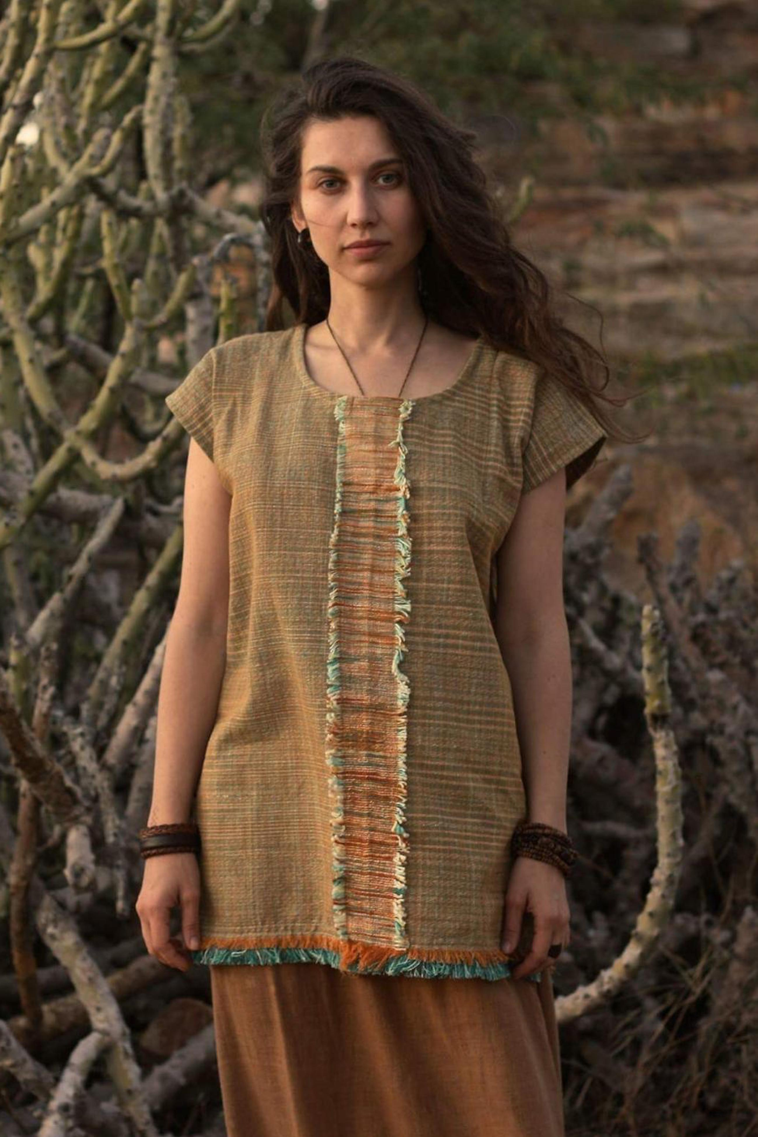 Magaia Khadi cotton top ~ Unisex