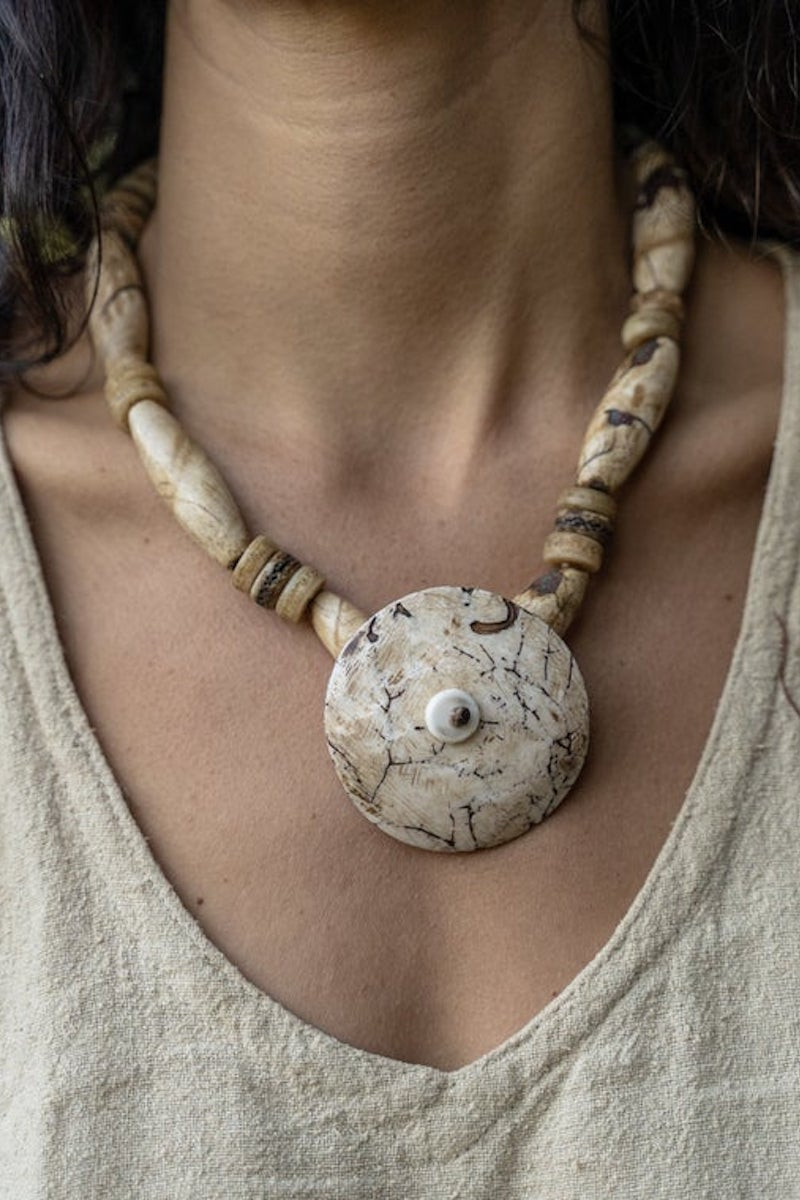 Ancient Spirit 3 • Tribal Shell Necklace