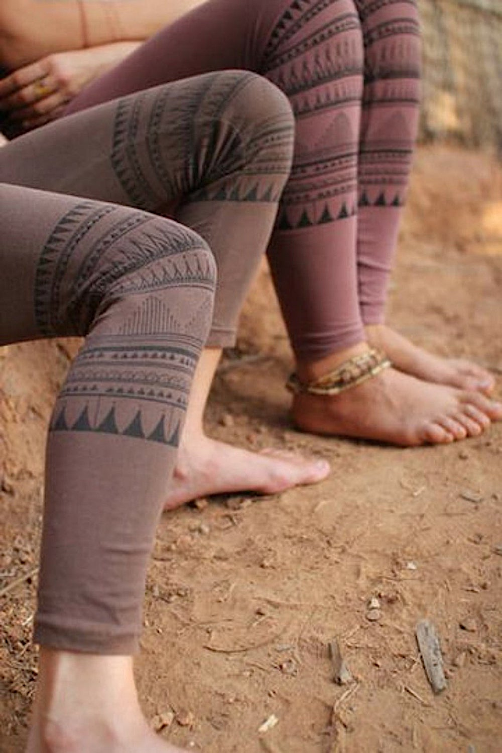 Tribal Leggings ~ Organic Cotton ~