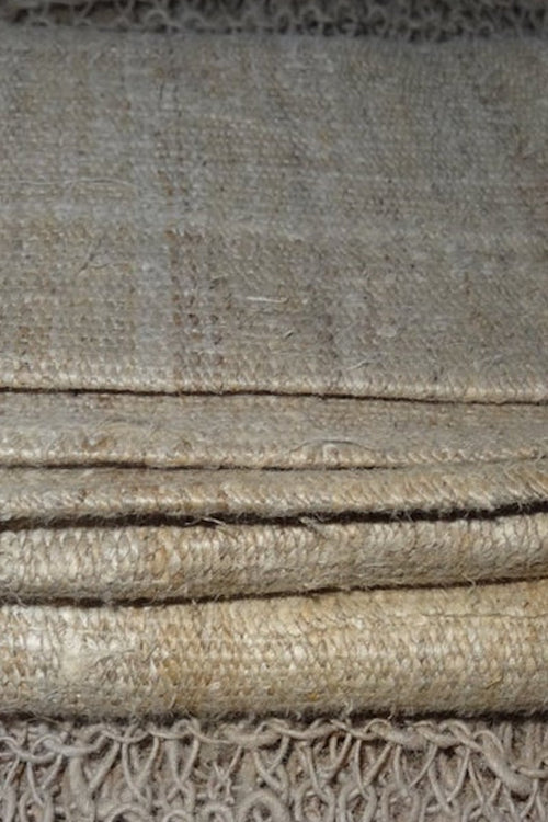 Handwoven Hemp Fabric ~