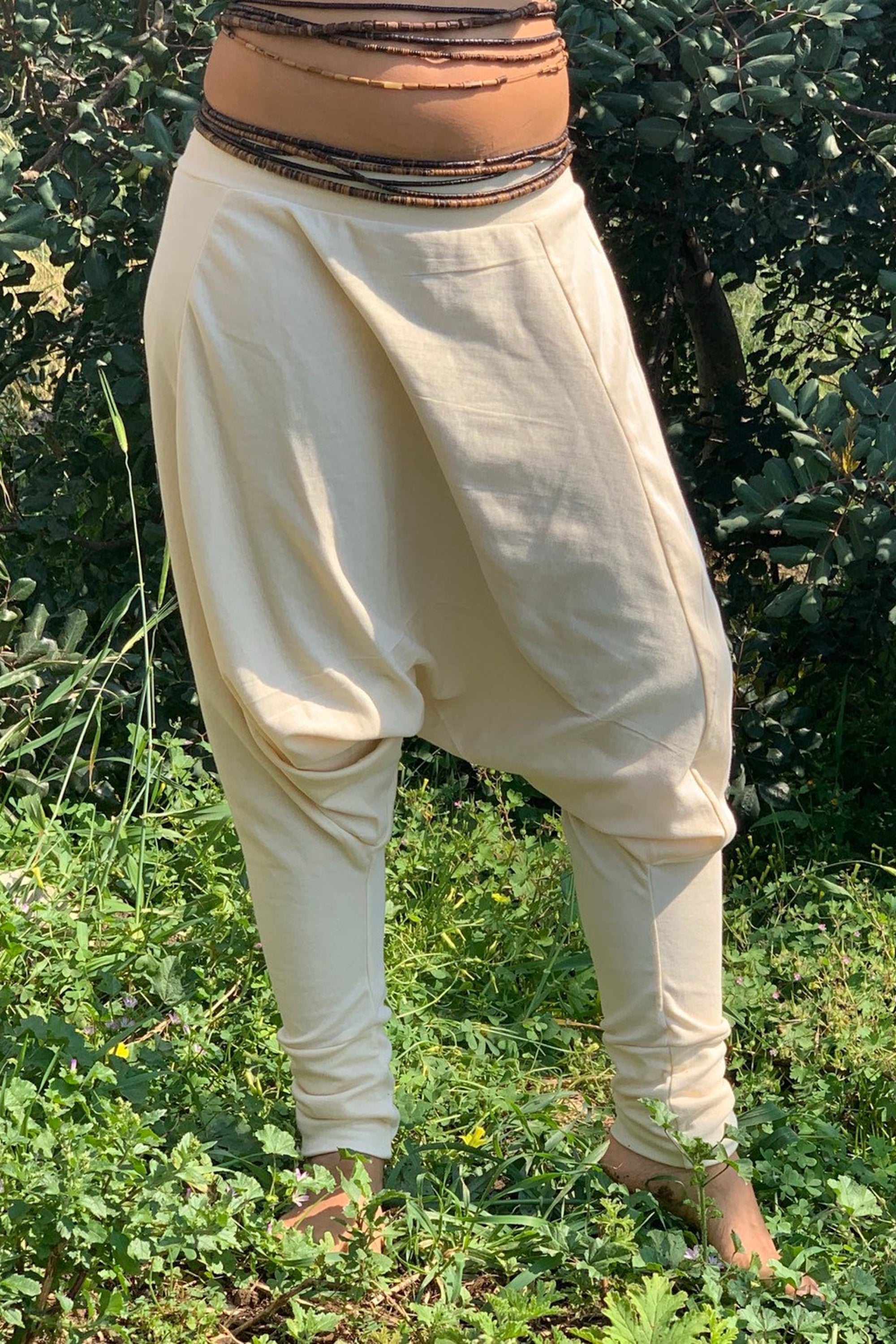 100% Organic Cotton Stretchy Harem Pants