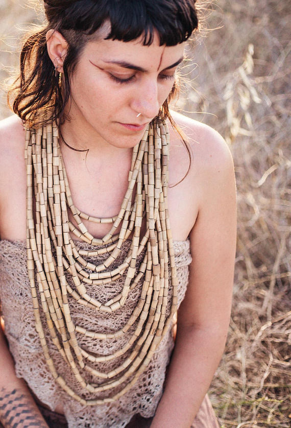 Organic necklace, beads necklace, gypsy necklace, hippie necklace, wooden necklace, wood beads necklace, earthy necklace, tribal necklace, festival necklace, indian necklace, natural necklace, eco necklace, raw necklace, handmade necklace, seeds necklace, coconut beads necklace, organic jewelry, natural jewelry, wooden jewelry