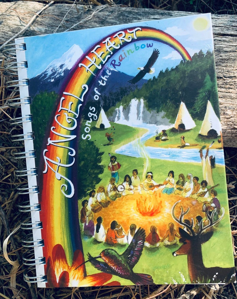book	songs	rainbow	gypsy	hippie	circle	song circle	chords	guitar chords	rainbow festival	song book	Christmas gift	birthday gift