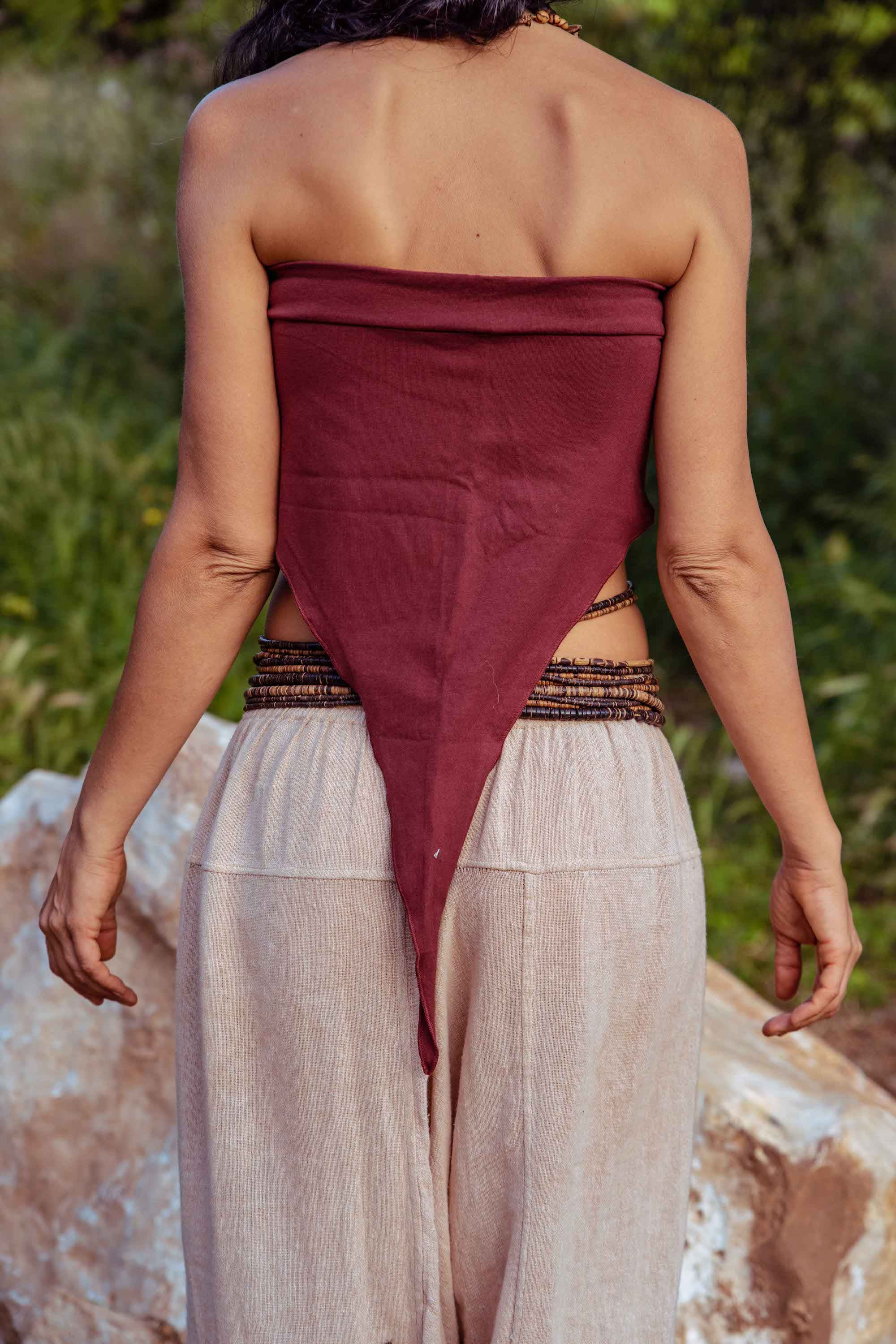 Pixie Top ~ Middle Point ~ Organic Cotton