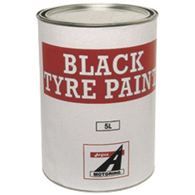 Tyre Paint Matt Black