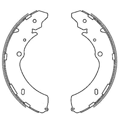 Brake Shoes - Isuzu KB, P190, D-TEQ