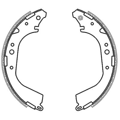 Brake Shoes - Quantum,  Hi-Lux, Nissan Hardbody