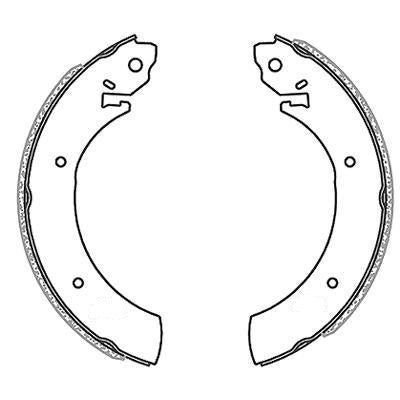 Brake Shoes - Toyota, Isuzu, Nissan Local Diff
