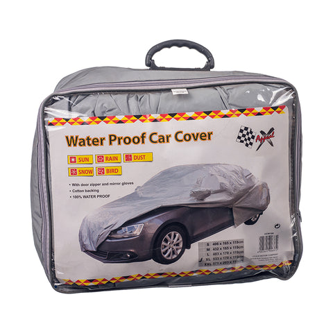 Car Cover - Waterproof: X-Large