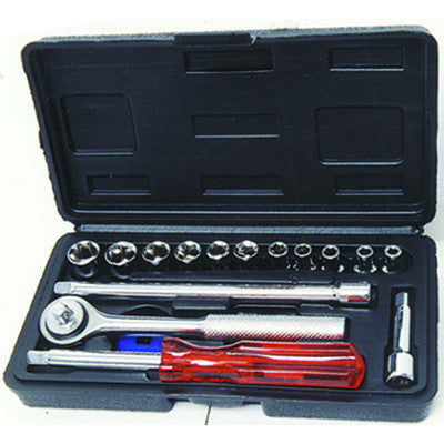 Socket Set - 17 Piece