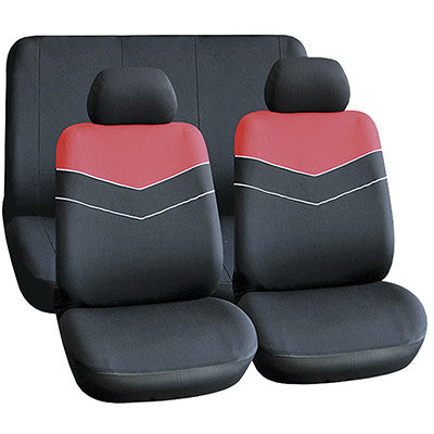 Seat Cover (6 Piece) - Red [SE040]