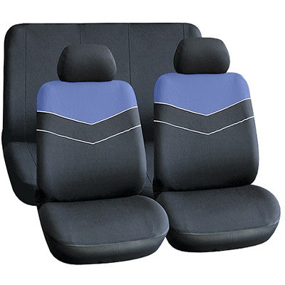 Seat Cover (6 Piece) - Blue [SE042]