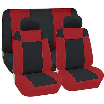 Seat Cover (6 Piece) - Red [SE501]