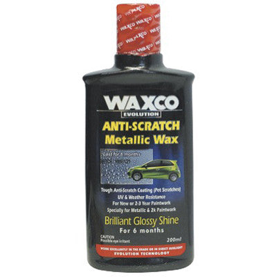 Anti Scratch Metallic Wax