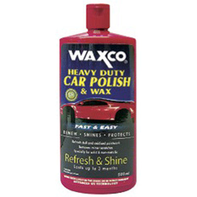 Heavy Duty Car Polish & Wax