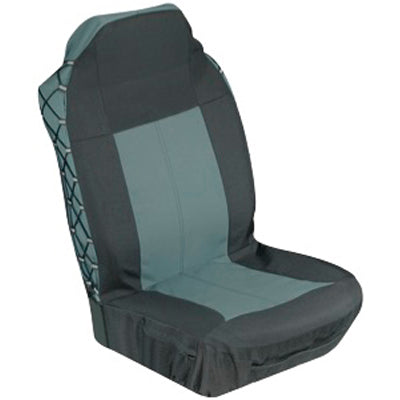 2 Pcs Heavy Duty Poly Canvas Seat Cover - Front