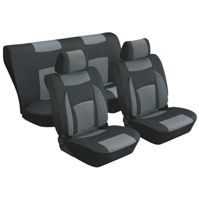 8 PCS Seat cover - Black
