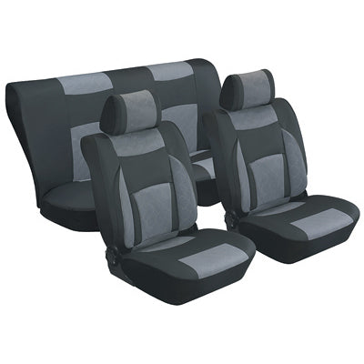 8 PCS Seat cover - Grey