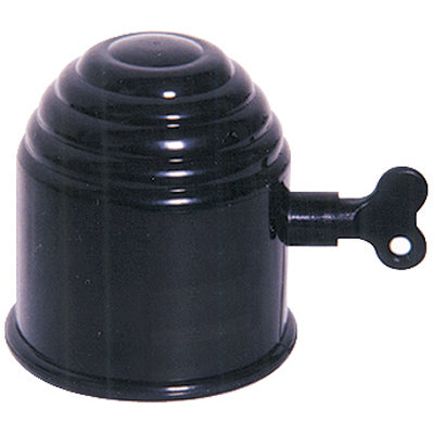 Tow Ball Cover - Black with Lock