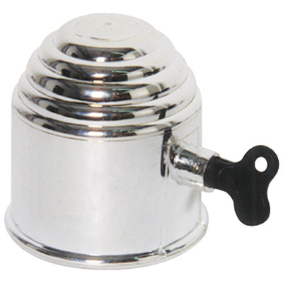 Tow Ball Cover - Chrome with Lock