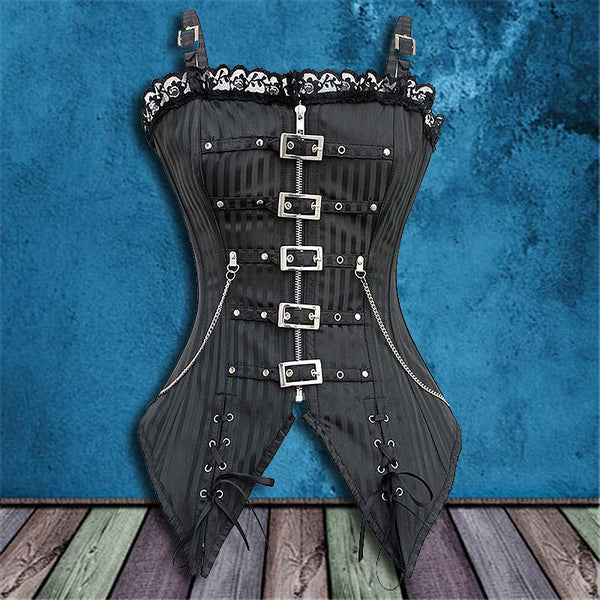 CORSET WITH BUCKLES**50% OFF**