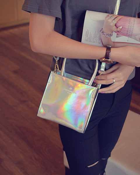 LASER COLOR SHOULDER BAG