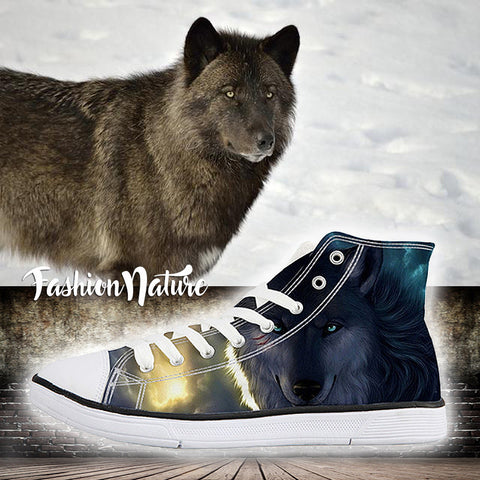 UNIX 3D WOLF PRINT SHOES (II)