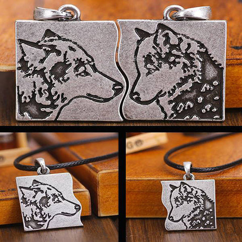 WOLF COMPANION PENDANTS