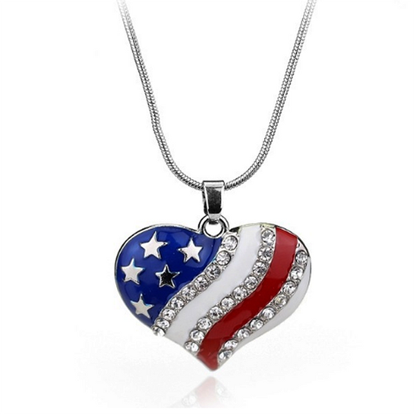 USA NATIONAL FLAG PENDANT