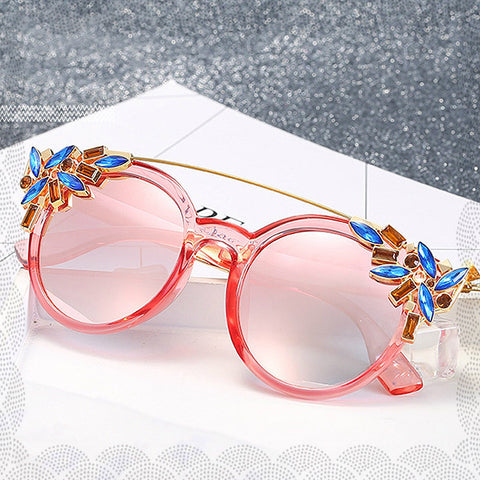 ROMANTIC SUNGLASSES WITH LUXURY STONES