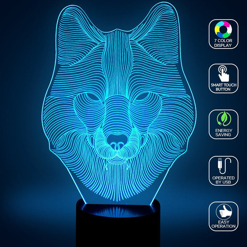 LED WOLF LAMP *50% Off!*