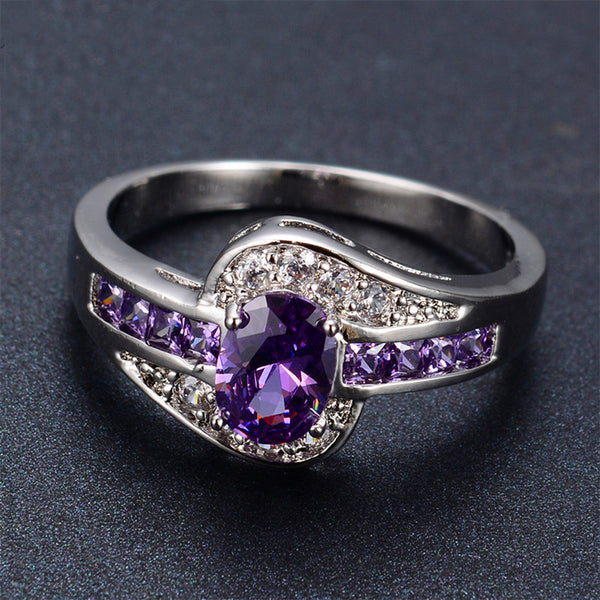 JUNE BIRTHSTONE OVAL RING**50% OFF**