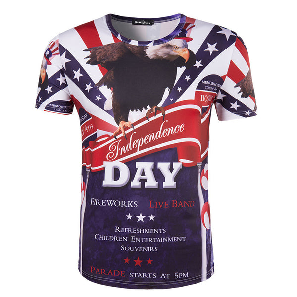 T-SHIRT INDEPENDENCE DAY
