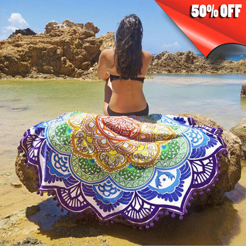 BOHEMIA STYLE BEACH TOWEL, ALSO FOR YOGA
